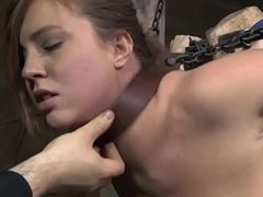 Beautiful sub gets dominated after a long time drooling