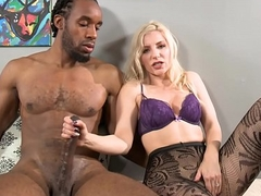 Big Black Cock Fucks My Lewd Mouth!