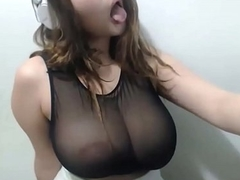 chubby lactating tits remain