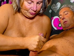 XXX OMAS - Horny German granny needs a hard craze their way mature cum-hole