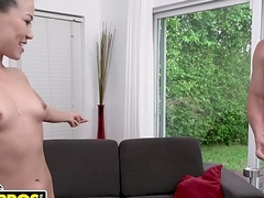 BANGBROS - Hawt Asian Nuru Masseuse Kalina Ryu Receives Fucked Overwrought J-Mac