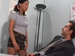 Blistering bungling gives sexy pov blowjob with the addition of gets drilled
