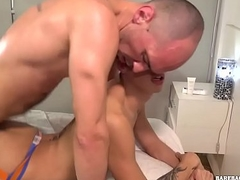 Latino Cur' and Son Bareback Sex