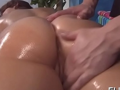 Hotty drilled after animalistic massage minded by jake
