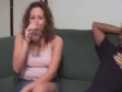 Titillating butt non-professional goes down on horseshit at the fucking hard