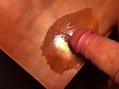 Spitting superior to before my load of shit while getting hard