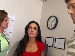 Doctors Endanger - (Angelina Valentine, Tory Lane, Ramon) - Hands On Procedure - Brazzers