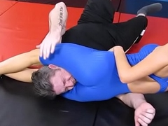 The Playboy Wrestler - Pussy-smothering Suffocate