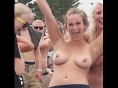 Public Flashing, Undressing &amp_ Voyeur Compilation