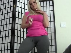 Let me give u a handjob take my new yoga panties JOI