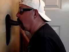 Chocolate Cock Serviced At Put emphasize Gloryhole